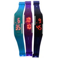Wholesale Silicone Rubber Bracelet Touch Screen LED Watch Thin Water Proof from china suppliers