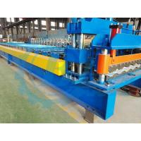 Quality Color Coated Automatic Steel Iron Roofing Tile Roll Forming Machine For Steel Structure for sale