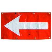 Wholesale Flashing LED Chevron Traffic Arrow Boards Mat Directional Warning Flag TAB053 from china suppliers