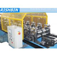 Wholesale Eaves Trim Ridge Flashing Roof Panel Roll Forming Machine with Manual Coiler from china suppliers