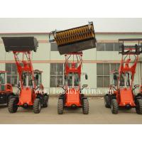 Wholesale 4WD 1.5T wheel loader ZL15F with bucket broom from china suppliers