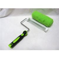 "Wholesale Green Polyester Smooth Roller Paint Brush , 7"" / 9"" Paint Corner Roller from china suppliers"