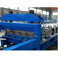 Wholesale Appro×18m*1.6m*1.8m, 10-20m / min Automatic Metal Deck Roll Forming Machine from china suppliers