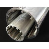 Wholesale Grit Separation Slotted Wedge Wire Screen 85mm OD With From Outside To Inside Filtering from china suppliers