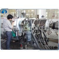 Wholesale 16~800mm HDPE Pipe Manufacturing Machines Single Screw Extruder With PLC Control from china suppliers