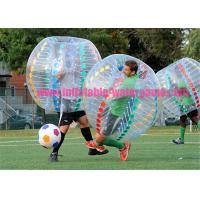 Wholesale Adults Soccer Inflatable Bumper Ball 0.8MM - 1MM Thickness With CE Pump from china suppliers