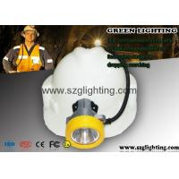 Wholesale Semi corded coal mining lamp 8000Lux , USB charging way and 5.6Ah 18650 battery from china suppliers
