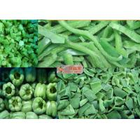 Wholesale Organic Frozen Bell Pepper / Fresh frozen diced Green Capsicum from china suppliers