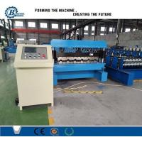 Wholesale Galvanized Steel Trapezoidal Roofing Roll Forming Machine With Hydraulic Decoiler from china suppliers