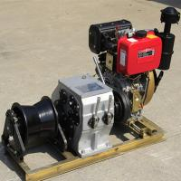 Quality Small / Big Model Marine Winch Durable With 600KN~4500KN Drum Brake Load for sale