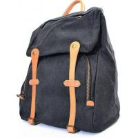 Wholesale fashion accessories  sport men's knapsack  in canvas and leather from china suppliers