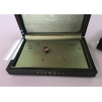 Buy cheap Black Paino Baking Lacquer Square Solid Wood Jewelry Box For Gift Packaging Or Jewelry Collection from wholesalers