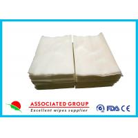 Wholesale Multi - Use Medline Dry Wipes , Pure Cotton / Viscose Personal Patient Cleansing Wipes from china suppliers