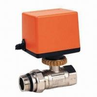 Wholesale Ball Valve with Output Torque of 10Nm, 1,400MPa Closing Pressure and 24V AC/DC, 220V AC Power Supply from china suppliers