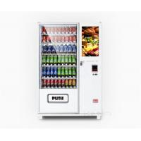 Wholesale Drop sensor Combo Vending Machine , Automatic Coffee Vending Machine from china suppliers