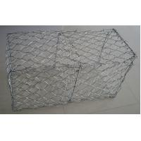 Wholesale 60×80 Mm Hot Dipped Galvanized Gabion Baskets / Box For Retaining Wall from china suppliers