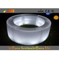 Wholesale Remote control LED round bar counter / LED wine display table from china suppliers
