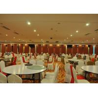 Wholesale Folding Partition Walls , Acoustic Movable Partition For Banquet Wedding Facility from china suppliers