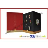 Wholesale Handmade Gift Packaging Boxes , Rubber Oil Paper With Embossed Logo on Rigid Board Gift Box from china suppliers