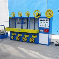 Vertical 3 Layer Wrapping Cable Wrapping Machine With Adjusting Continuous Variable Speed Transmission
