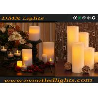 Wholesale Simulated Yellow Plastic Led Flameless Candle Rechargeable For Banquet Table from china suppliers