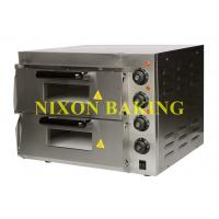 Wholesale Nixon baking equipment stainless steel high quality electric pizza oven PE2ST from china suppliers