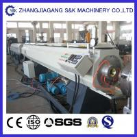Wholesale Hdpe Plastic Pipe Extrusion Line Fast Speed For Water Gas Supply Pipe With CE from china suppliers