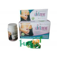 China Slim Xtreme GREEN Herbal Weight Loss Pills with Konjac Root / Bitter Orange Fruit Ingredients on sale