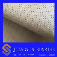Wholesale Ventilate PVC Artificial Leather , Upholstery Leather Seat Covers For Cars / Furniture from china suppliers