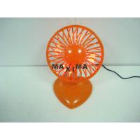 Wholesale 5V 2W Loptop Portable Mini USB Desk Fan with 7 Red Led for Office, School from china suppliers