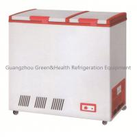 Wholesale Curved Glass Door Frige R134a , CE Chest Freezer Automatic Defrost from china suppliers