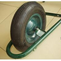 Wholesale Steel Rim Rubber Wheel (PR3006) from china suppliers