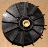 Wholesale Black PA66 Injection Moulded Plastic Parts Motor / Pump Fan Blades from china suppliers