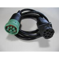 Type 2 To Type 1 Male J1939 Cable Pure Copper Green Connectors