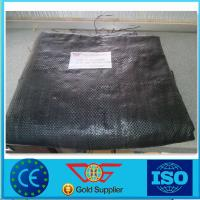Quality 75g Drainage Woven Geotextile Fabric UV Resistance For Road Construction for sale