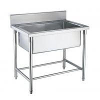 Wholesale Single / Double / Triple Bowl Commercial Stainless Steel Sinks For Cold / Freezing Room from china suppliers