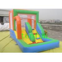 Wholesale Oxford fabric Commercial Inflatable Bounce House With Slide For Kids from china suppliers