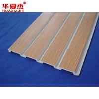 Wholesale Colored UPVC Vinyl Slatwall Accessories Garage Slotwall Panels from china suppliers