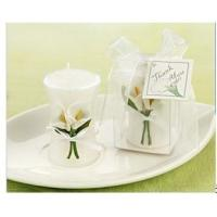 Wholesale Calla Lily Elegance' Vase Shaped Candle Wedding Favor from china suppliers