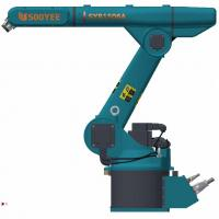 Wholesale Ground Mounted Pick And Place Robotic Arm , Mini Robot Arm For Partners from china suppliers