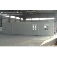 Wholesale Waterproof Living or Office 40ft Container House , White Mobile Modular Shelter from china suppliers