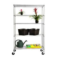 Wholesale Outdoor Adjustable DIY Metal Garden Flower Shelf Rack, NSF Approval from china suppliers