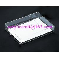 Wholesale Acrylic office supplies clear portable memo holder made in china from china suppliers