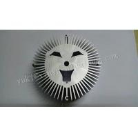 Wholesale CNC Machining Aluminum Auto Parts Aluminum Heat Sink Round Radiator Sunflower from china suppliers
