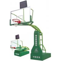 Wholesale Manual Operated Hydraulic Basketball Stand , Steel Outdoor Basketball Systems from china suppliers
