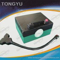 Wholesale Light Powerful Lithium Golf Trolley Battery , 12V 16AH Golf Caddy Battery from china suppliers
