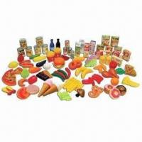 Wholesale 120pcs Play Food Set with Vivid Color, Suitable for Children from china suppliers