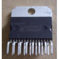 Wholesale Audio power amplifiers chip CD7377CZ ZIP-15 ic original from china suppliers