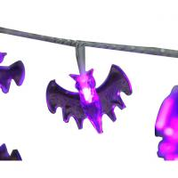 Wholesale Purple bat led fairy string halloween led decorative string from china suppliers