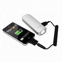 Wholesale Portable Power Bank for iPhone, 4,400 to 5,200mAh, Sony's PSP, MP3/MP4, Mobile Phone from china suppliers